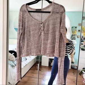 Brandy Melville Knit Top